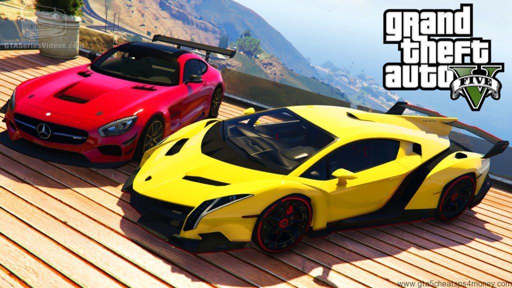 GTA 5 Cheats PS3 Cars