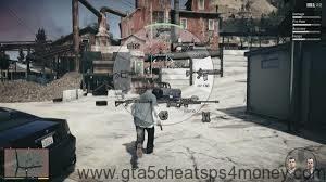 GTA 5 Cheats PS3 Weapons