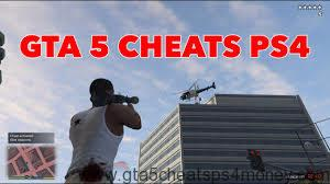 GTA 5 Cheats PS4 Invincibility