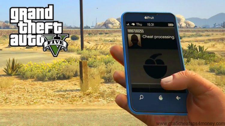 GTA 5 Cheats Phone