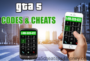 GTA 5 PS4 Cheats Phone