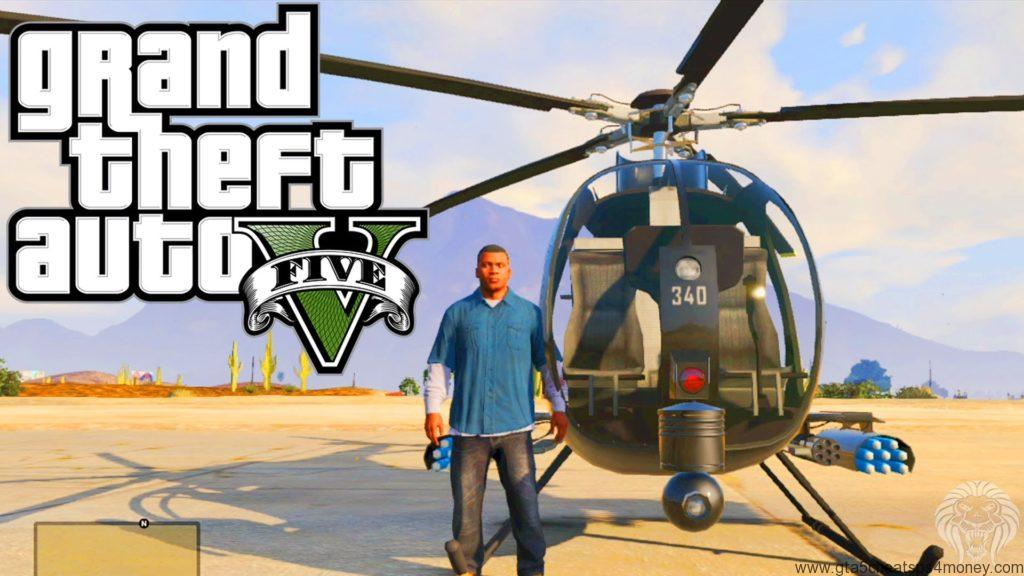 GTA 5 PS4 Helicopter