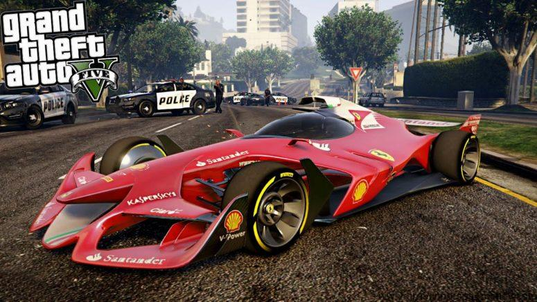 GTA 5 Xbox Cars