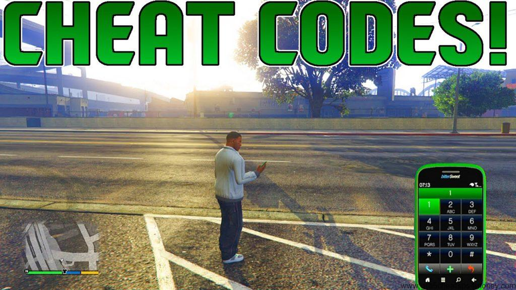 GTA 5 Cheats Numbers
