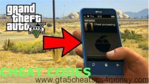 GTA 5 Cheats PS3 Phone