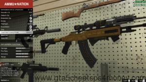 GTA 5 Cheats Xbox 360 Weapons