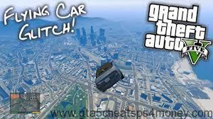 GTA 5 Cheats Flying Car