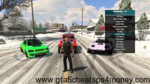 GTA 5 Xbox 360 Mod Menu