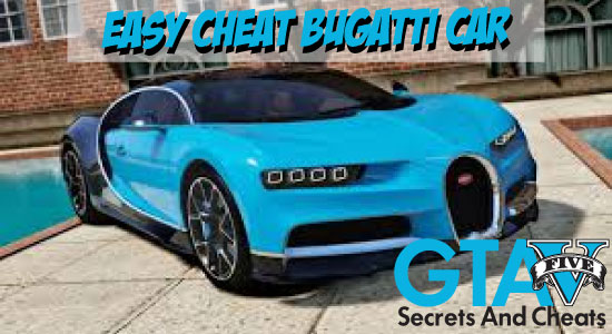GTA 5 Cheats PC Cars Bugatti